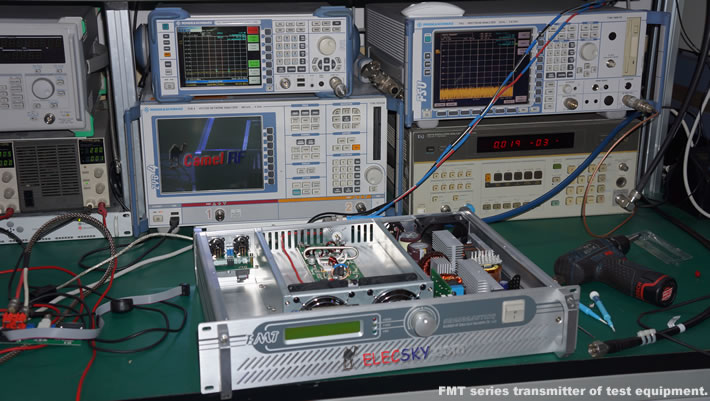 our test equipment.